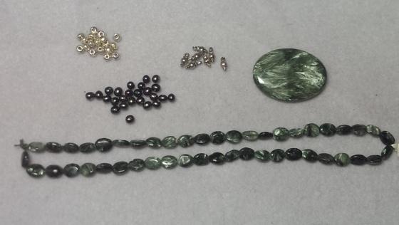 Seraphinite raw materials